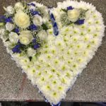 Heart Floral Tribute